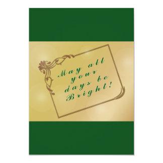 Feiertag, Weihnachten kann alle Ihre Tage hell Karte
