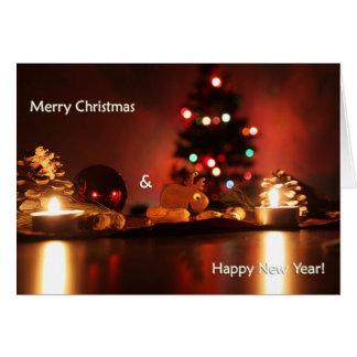 Feiertage glückliches neues Jahr der frohen Karte