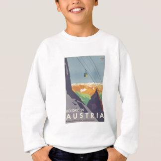 Feiertage in der Österreich-GebirgsVintagen Reise Sweatshirt