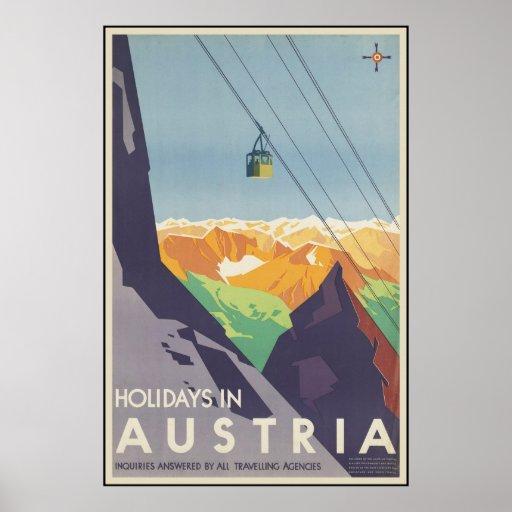 Feiertage in Österreich Poster