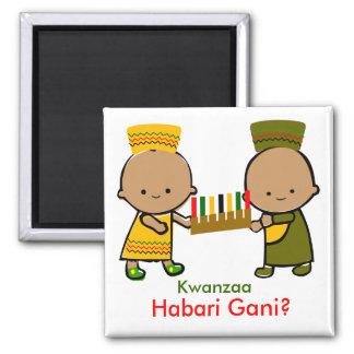 Feiertags-Baby-Magnet - Kwanzaa Kühlschrankmagnete