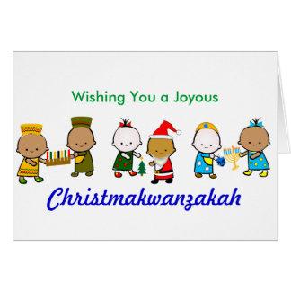 Feiertags-Babys Christmakwan Karte