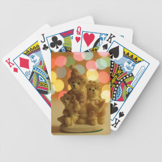 Feiertags-Bären Bicycle Spielkarten