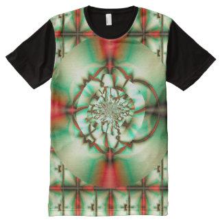 Feiertags-Beifall-abstrakte feine Fraktal-Kunst T-Shirt Mit Bedruckbarer Vorderseite