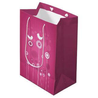 Feiertags-Blumengeschenk-Tasche Medium Geschenktüte