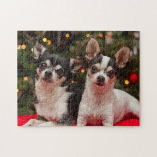 Feiertags-Chihuahua Puzzle