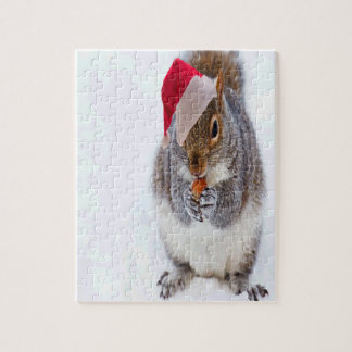 Feiertags-Eichhörnchen Puzzle
