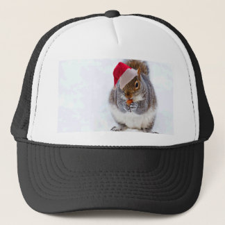 Feiertags-Eichhörnchen Truckerkappe