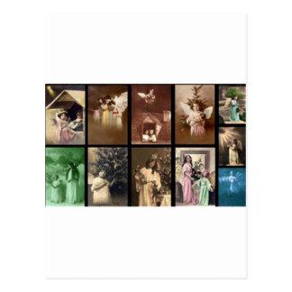 Feiertags-Engel I kundengerecht Postkarten
