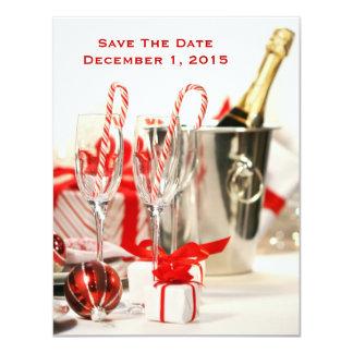 Feiertags-Feier-Save the Date Karten 10,8 X 14 Cm Einladungskarte