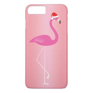 Feiertags-Flamingo iPhone 7 in der Rose iPhone 8 Plus/7 Plus Hülle