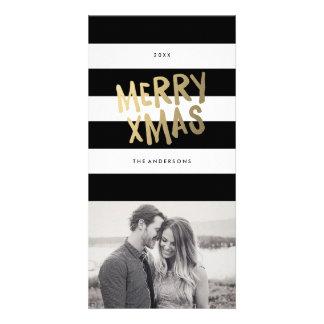 Feiertags-Foto-Karten Weihnachten | Bildkarte
