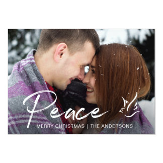 Feiertags-Fotokarte, Weihnachtsgrüße Karte