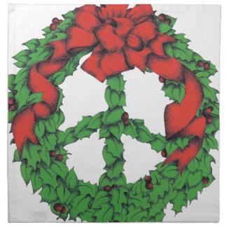 Feiertags-FriedensKranz Serviette