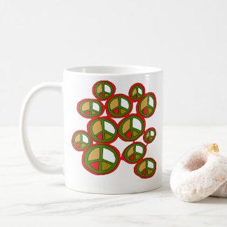 Feiertags-FriedensTasse Kaffeetasse