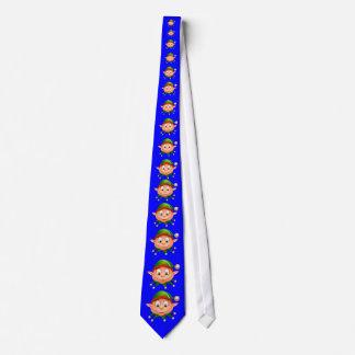 Feiertags-Hals-Krawatten-Elf Bedruckte Krawatte