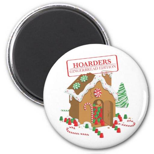 Feiertags-Hamsterer Kühlschrankmagnet