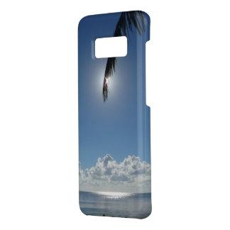Feiertags-Handy-Fall - Sun, Meer und blaues Skie Case-Mate Samsung Galaxy S8 Hülle