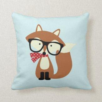 Feiertags-Hipster-BrownFox Kissen