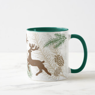 Feiertags-Holz-Tasse Tasse