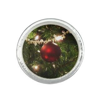 Feiertags-hübsches Grünes und Rot des Ring