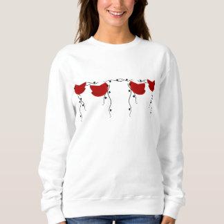 Feiertags-Kardinals-Shirt Sweatshirt