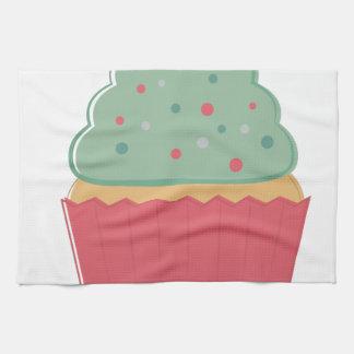 Feiertags-kleiner Kuchen Handtuch