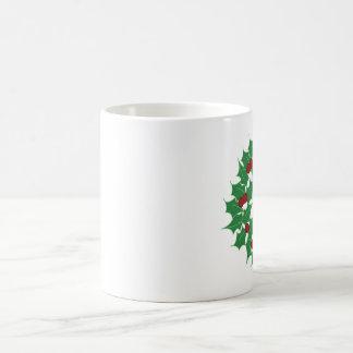 Feiertags-Kranz Kaffeetasse