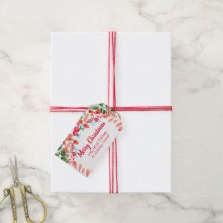 Feiertags-Kranz: Personalisierter Weihnachtsumbau Geschenkanhänger