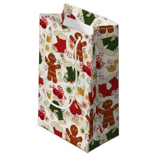 Feiertags-Lebkuchen-Muster Kleine Geschenktüte