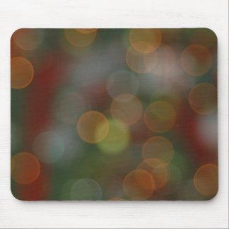 Feiertags-Lichter Mousepad