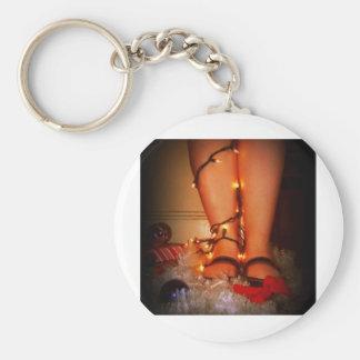 Feiertags-Lichter Schlüsselband