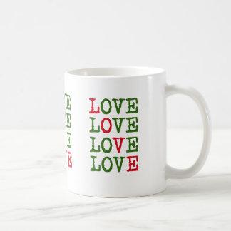 Feiertags-Liebe Kaffeetasse