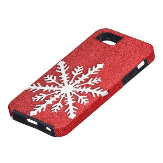 Feiertags-Schneeflocke iphone 5 Fall iPhone 5 Etui