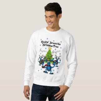Feiertags-Shirt der Männer klebriges Weihnachts Sweatshirt