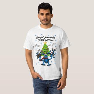 Feiertags-Shirt der Männer klebriges Weihnachts T-Shirt