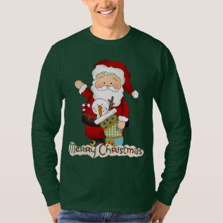 Feiertags-T - Shirt Weihnachtssankt-Männer