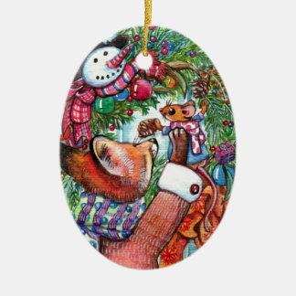 Feiertags-Verzierung Keramik Ornament