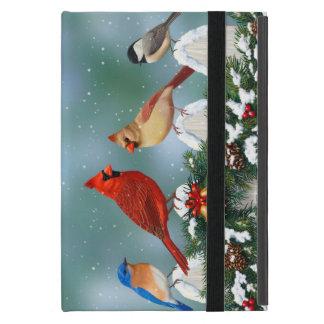 Feiertags-Vögel u. Weihnachtsgirlande Schutzhülle Fürs iPad Mini