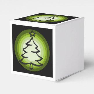 Feiertags-Weihnachtsbaum-Bevorzugungskasten Geschenkschachtel