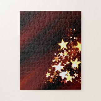 Feiertags-Weihnachtsbaum Puzzle