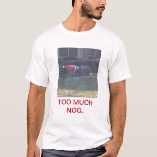 Feiertags-/Weihnachtslustiger T - Shirt - zu viel