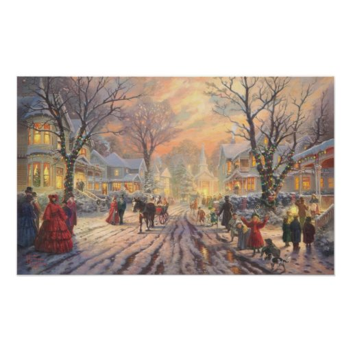 Feiertags-Weihnachtsplakat Plakatdruck
