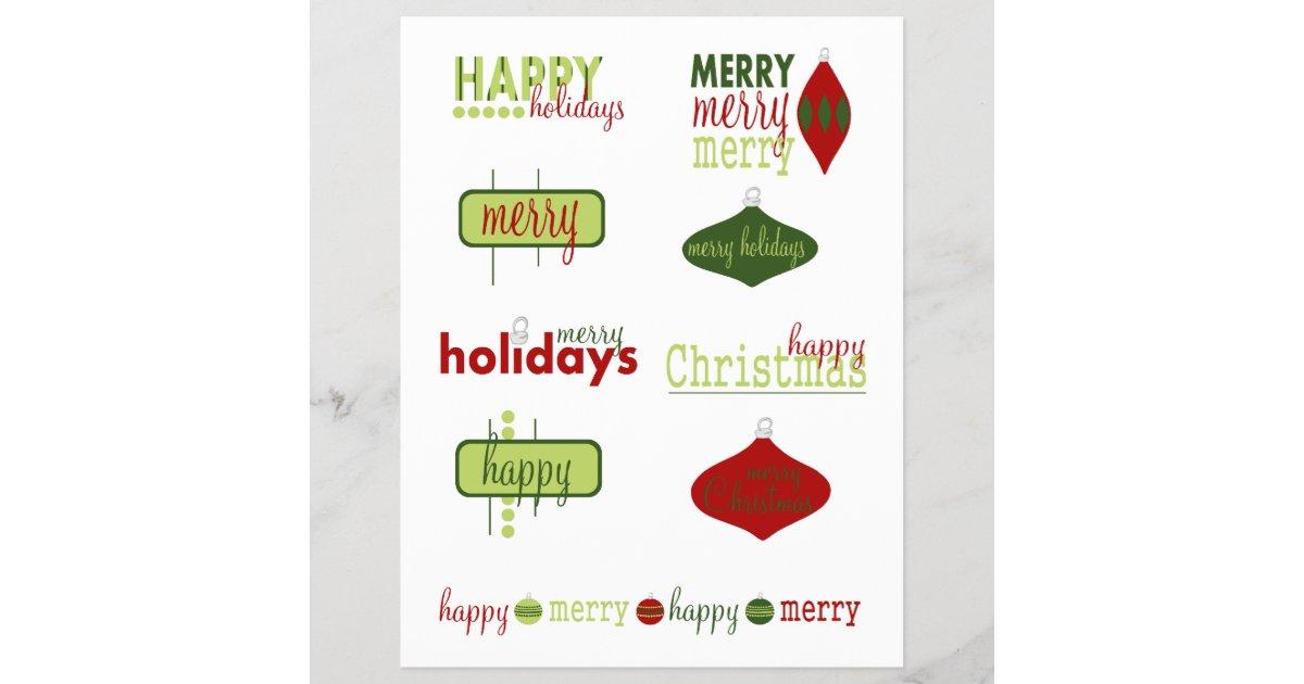 Feiertags-/Weihnachtstexte | Zazzle