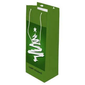 Feiertags-Wein-Tasche Geschenktüte Für Weinflaschen