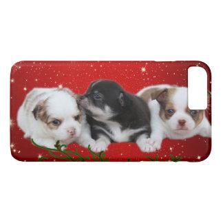 Feiertags-Welpen (Hunde) iPhone 8 Plus/7 Plus Hülle