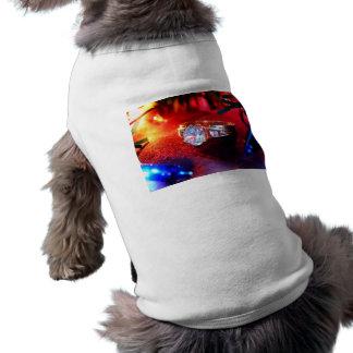 Feiertags-Wunsch Ärmelfreies Hunde-Shirt