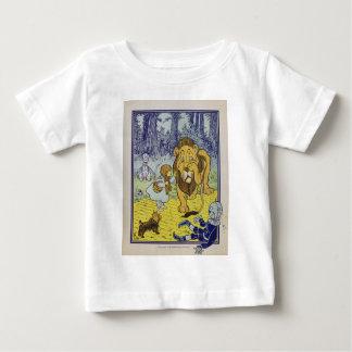 Feige Löwe-Zauberer- von Ozbuch-Seite Baby T-shirt