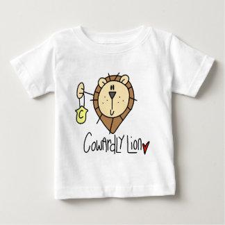 Feiger Löwe Baby T-shirt
