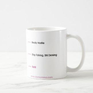 Feindlich Kaffeetasse
